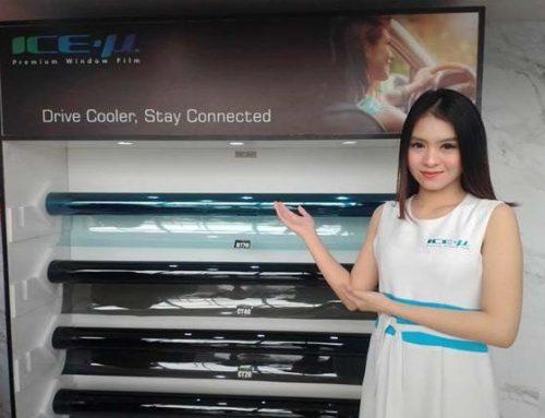 Kaca Film ICE-µ Hadir di GIIAS, Harga Promo Rp 980 Ribu
